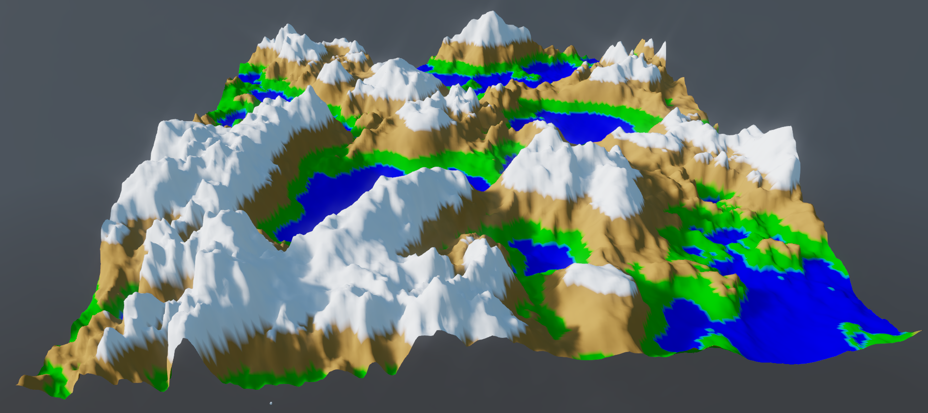 Heightmap terrain