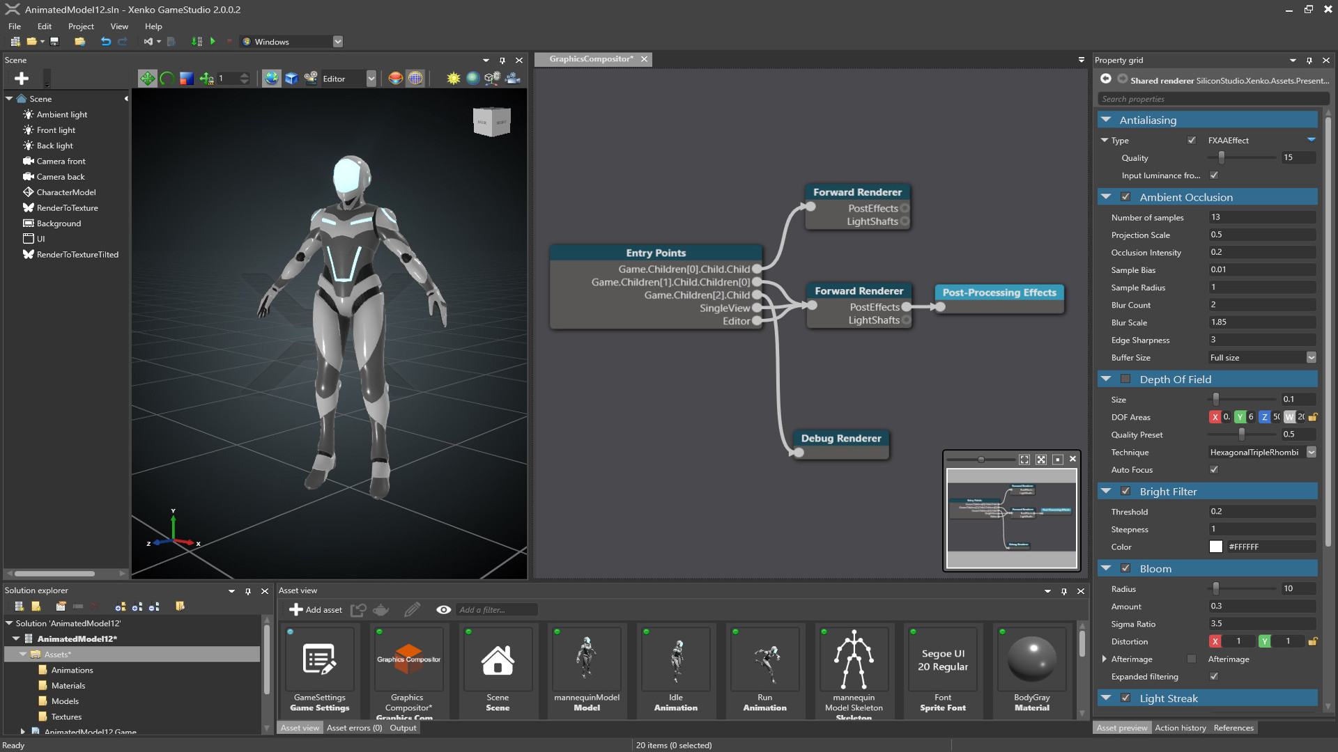 Graphics compositor